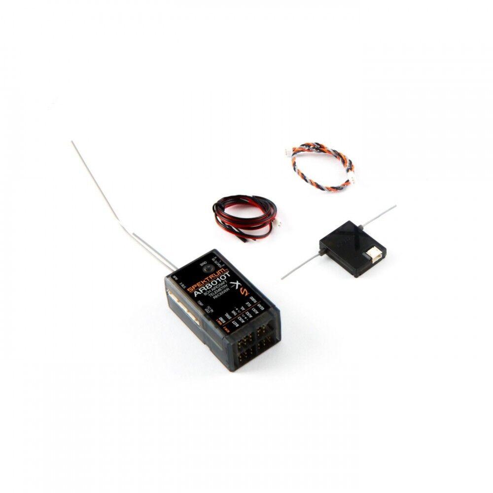 Receptor de telemedida integrado de aire Spektrum 8-CH SPMAR 8010T