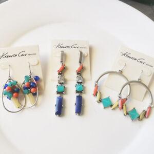 New-Kenneth-Cole-Drop-Dangle-Earrings-Gift-Fashion-Women-Jewelry-3Styles-Chosen