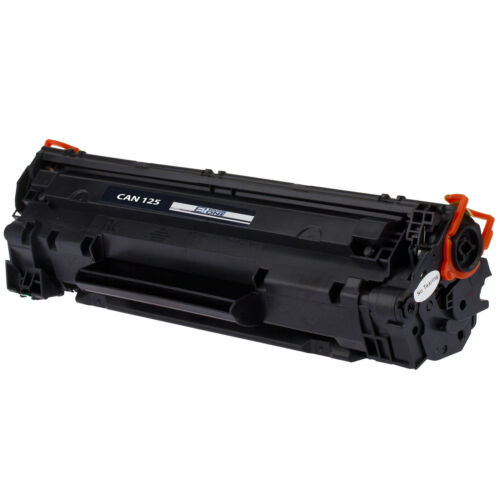 eSquareOne Toner Cartridge Replacement for Canon 125 3484B001AA Black, 2-Pack