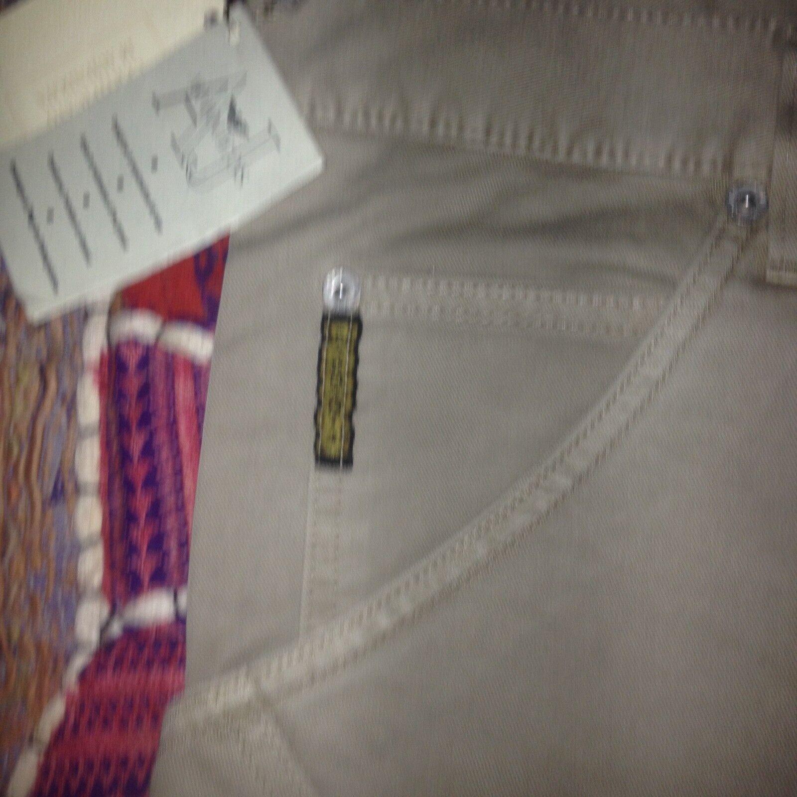 Vintage Armani Jeans Heavy Fabric Brush Cotton Waist size 36 Leg 34 Long