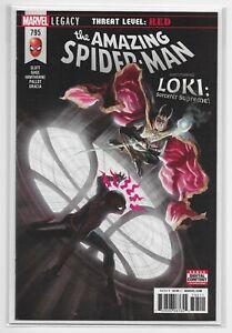 The-Amazing-Spider-Man-795-NM-Alex-Ross-Cover-w-Loki-Marvel-Legacy-Comics