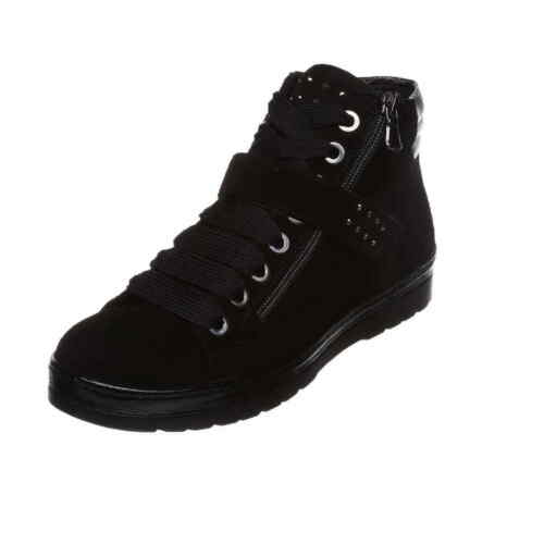 Largeur Semler Nubuk Noir G Glissi Cuir Chevro Sneaker Ruby qpGUzMLSV