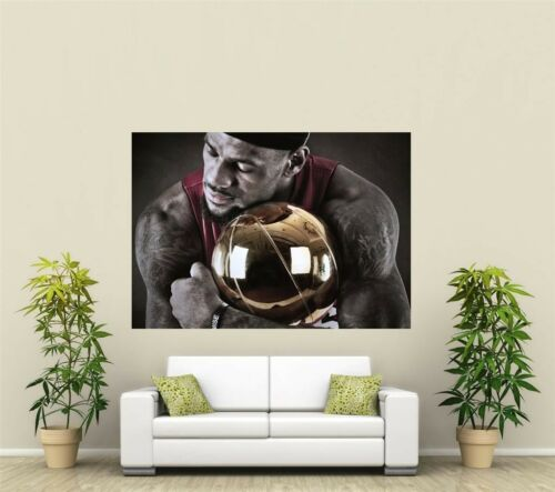 Lebron James Basketball Giant 1 Piece  Wall Art Poster SP177