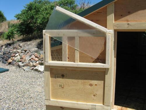 Chicken coop plan /& material list Big 6 by 6 Kennel Coop emailed version only