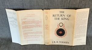 Early 1st Ed - The Return Of The King Dust Jack- Tolkien -Lord Of Rings Hobbit