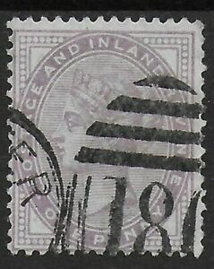 SG170-1d-Lilac-Die-I-14-Dots-Fine-Used-With-180-Numeral-Of-Chester-Ref-07106