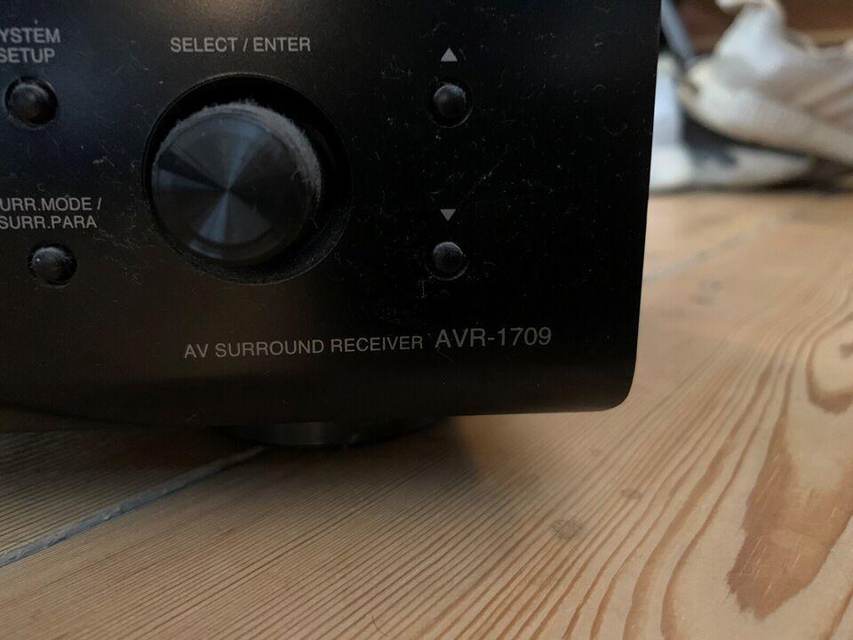 Forstærker, Denon, AVR-1709