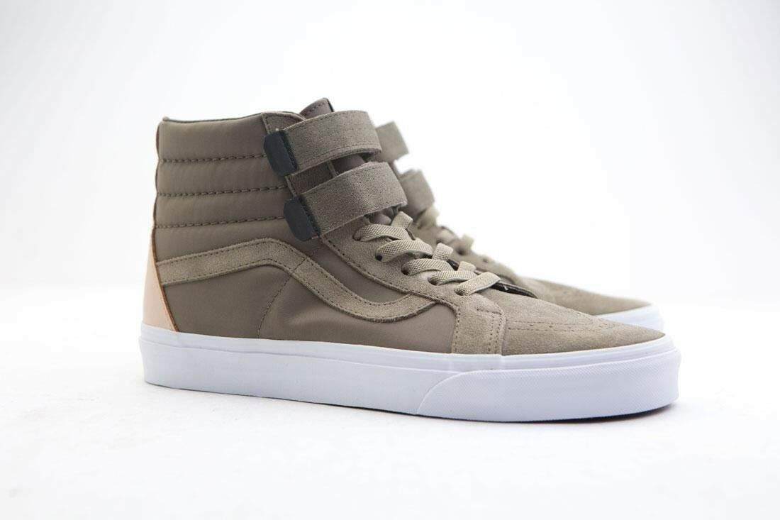 VN0MV6QE8 Vans Men SK8-Hi Reissue V green surplus