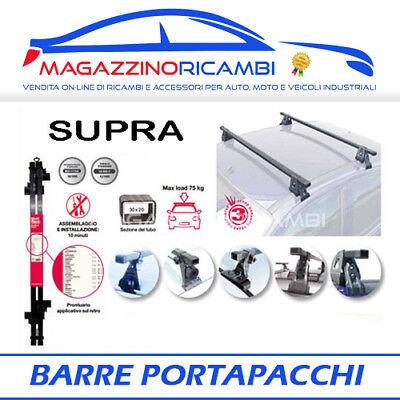 Barre Portatutto Menabo/' Tema PEUGEOT 208  2012-2015 5p portapacchi alluminio