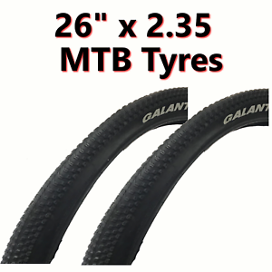 58-559 2x Tyre 26 x 2.35 MTB Mountain Bike Bicycle Downhill
