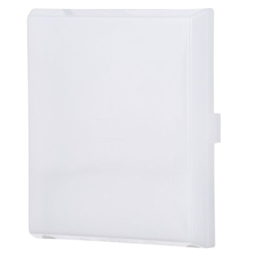 White Replacement Light Lens for Broan NuTone Ventilation Fan Plastic Bulb Cover