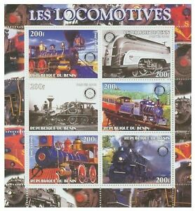 Locomotives-feuille-de-6-8403