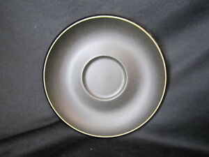 Denby-JET-BLACK-Saucer-Only-Brand-New