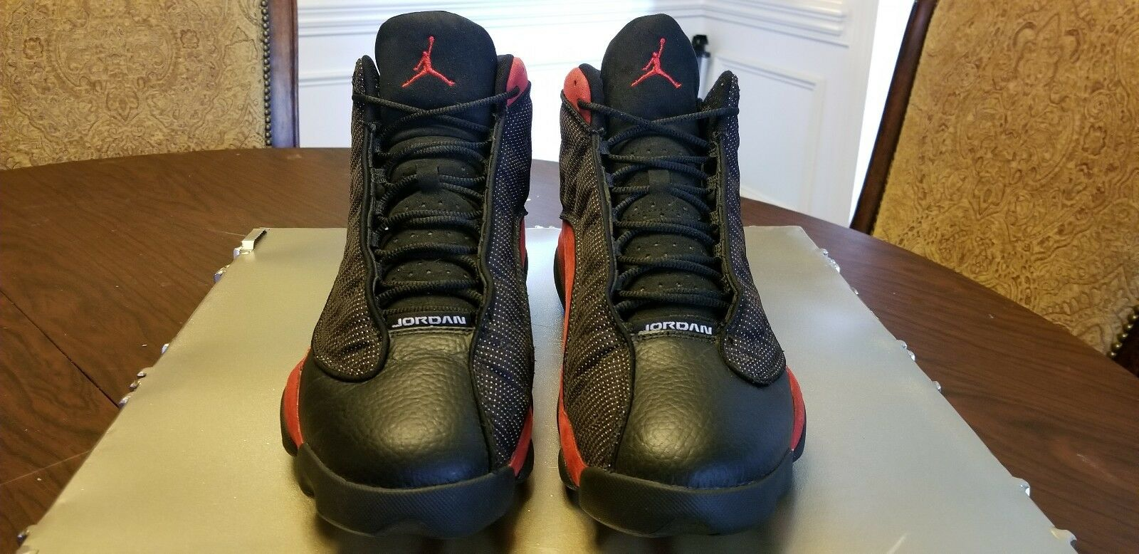 Nike Air Jordan Retro 13 Black/Varsity Red-White