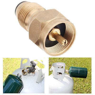 Propane Refill Adapter Lp Gas 1 Lb Cylinder Tank Coupler Brass Top Quality F