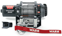 Warn Atv Vantage 2000 Winch Wmount Polaris Ace 570/sp 15-17