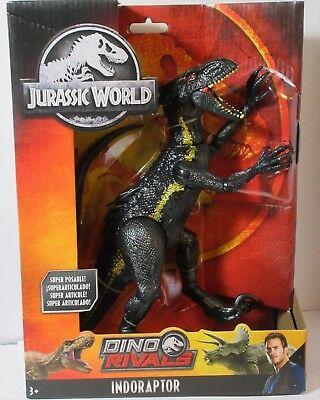 Jurassic World SUPER POSABLE INDORAPTOR NEW 2018 MATTEL... DINO RIVALS
