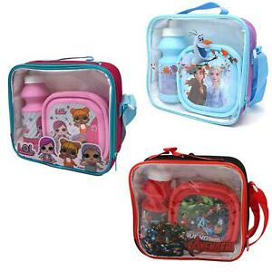 Far From Home Chirdren/'s Lunch Bag Insulated Snack Picnic Lunch Box Spider-Man