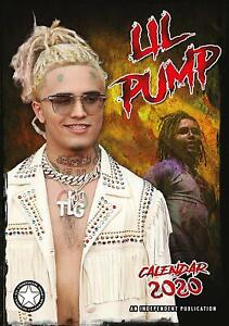 New Christmas Rap Music 2020 Lil Pump Wall Calendar 2020   Large A3   Rap Music Christmas Gift