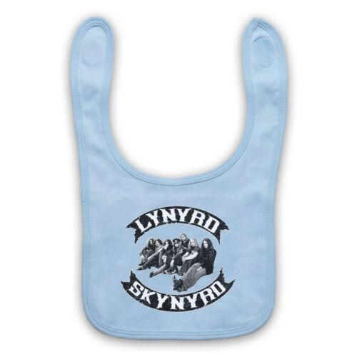 LYNYRD SKYNYRD SOUTHERN ROCK BAND MEMBERS UNOFFICIAL BABY BIB CUTE BABY GIFT
