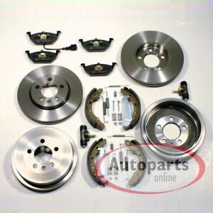 5J Skoda Roomster Bremstrommel Bremsen Set Zubehör Radzylinder Hinterachse