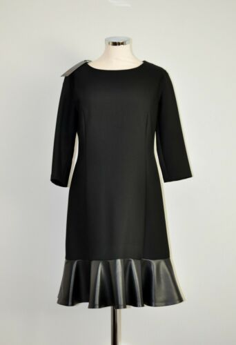 Minx Nouveau Fine54 36 Dress Black Gr r88ZqXxwp