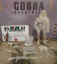 GI JOE ~ 2003 CLEAR ZARTAN ~ 100% COMPLETE !! COLLECTORS CLUB FIGURE
