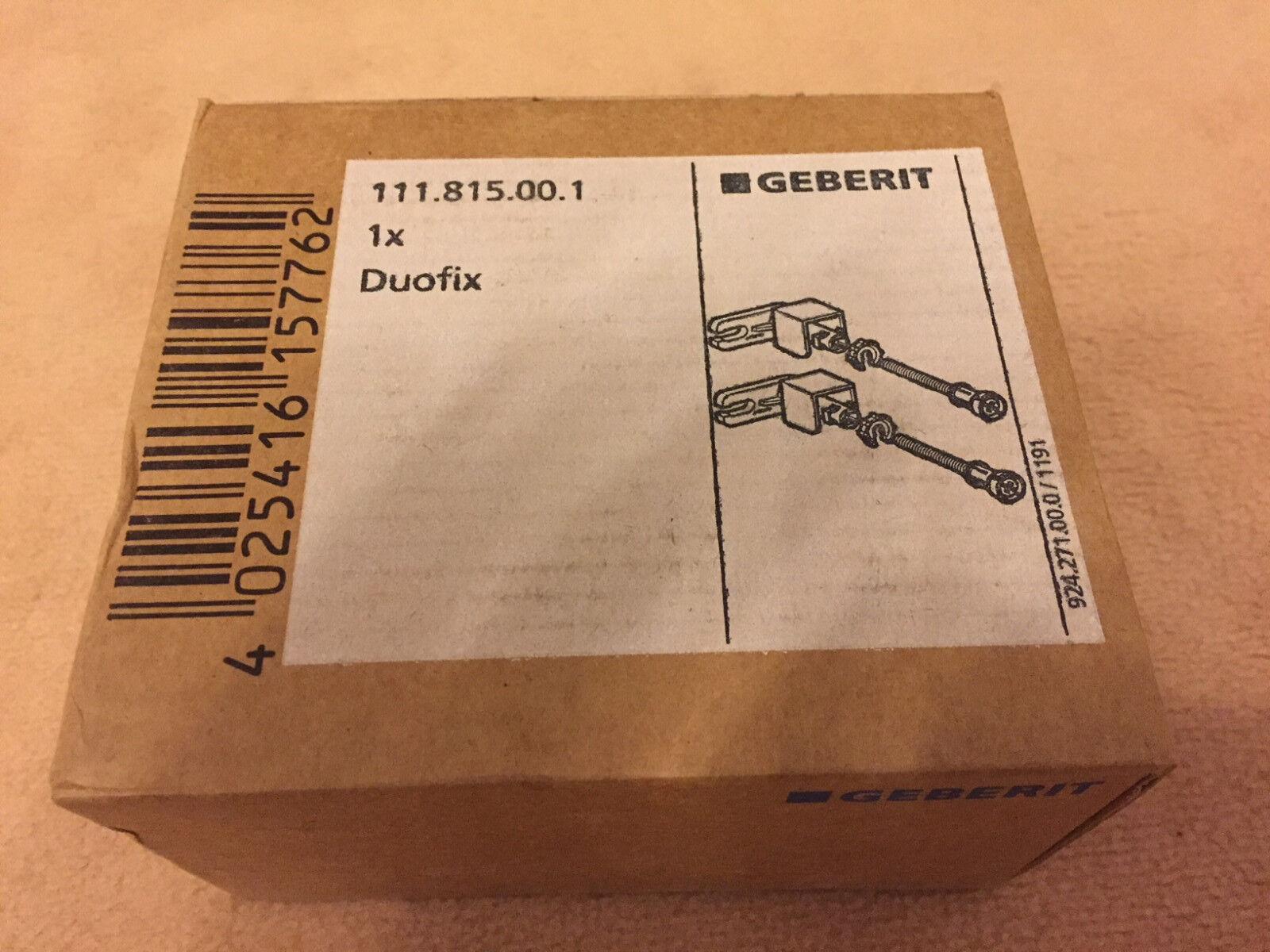 Geberit Duofix Spülkasten Delta und Duofix Basic Waschtischelement Bauhöhe 112cm