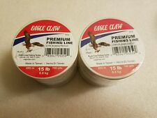 EAGLE CLAW BIOLINE FISHING LINE 8-lb TEST Free Shipping