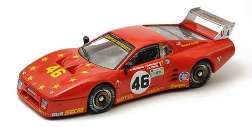 Ferrari 512 Bb Le Mans Le Mans 1981 Dieudonne Xhenceval Be9327 1 43 Modellino