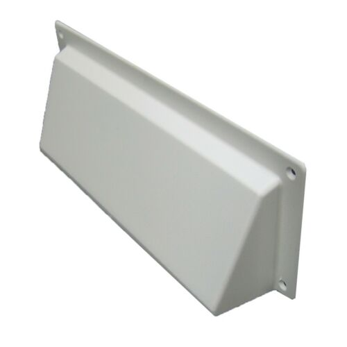 Hooded Cowl Vent Cover for Air Bricks Grilles Extractors Colour /& Size Options