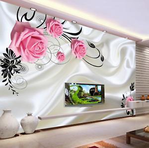3D Flower Trees 554 Wallpaper Murals Wall Print Wallpaper Mural AJ WALL AU Lemon
