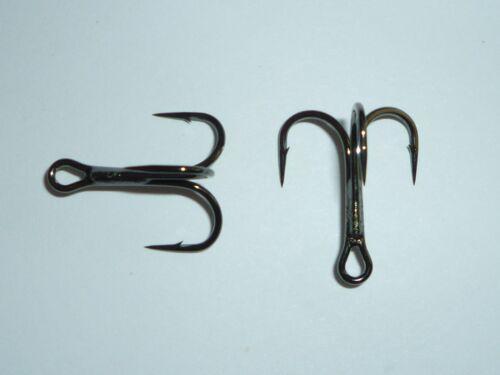 TR78NP-BN UltraPoint Size 4 25 Mustad KVD-Elite Round-Bend 1X Treble Hooks