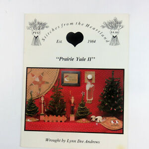 Prairie-Yule-II-Cross-Stitch-Stitches-from-the-Heartland-Lynn-Dee-Andrews1988