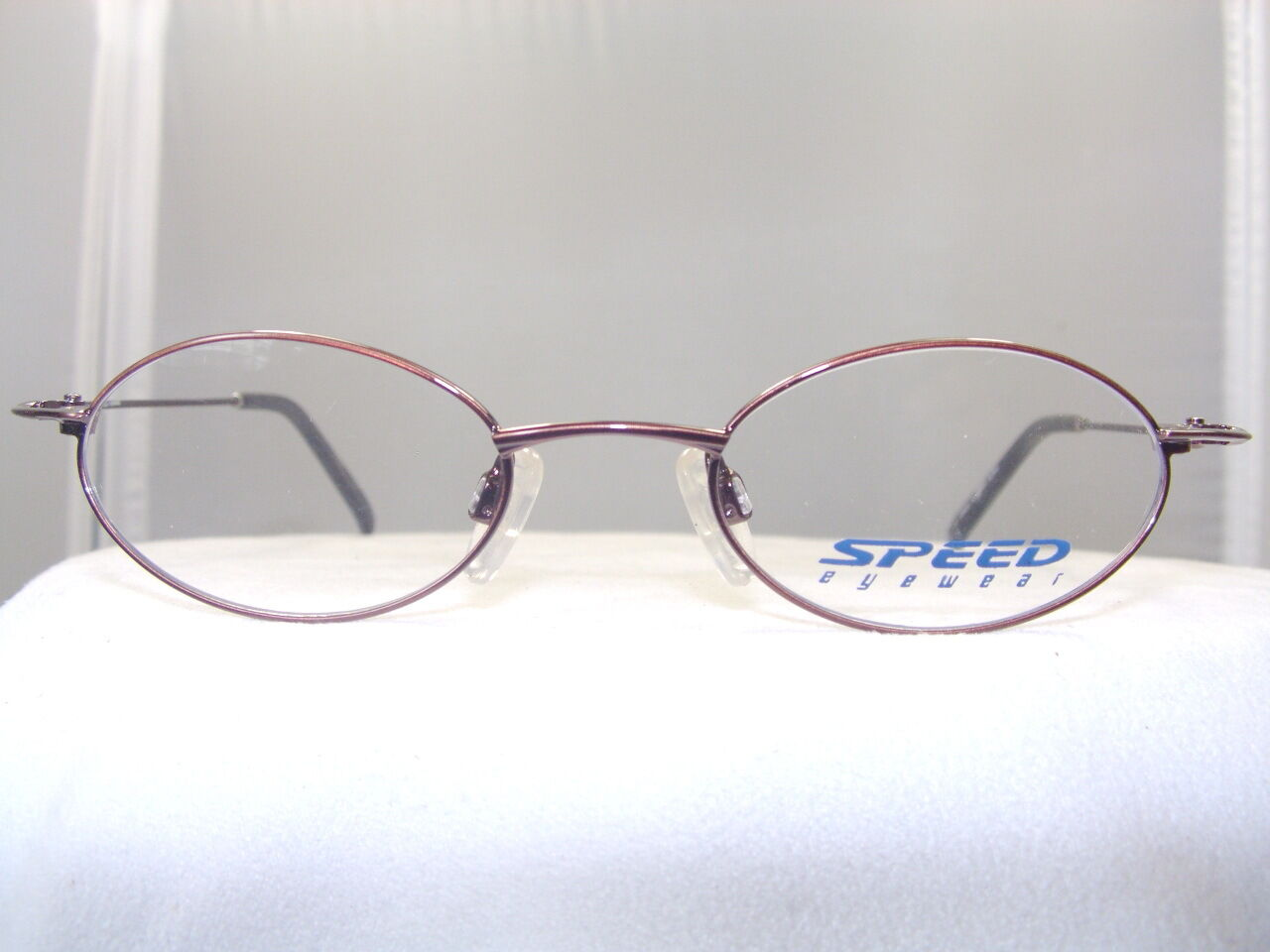 Eyeglass Frames Oval : SLEEK BRONZE OVAL RX READY EYEGLASS FRAME eBay