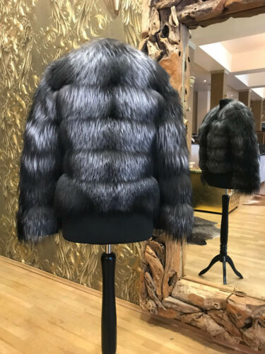Fox Fuchsweste Fur Jacket Silberfuchs Pelz Silber Jacke Fuchs derCBWxo