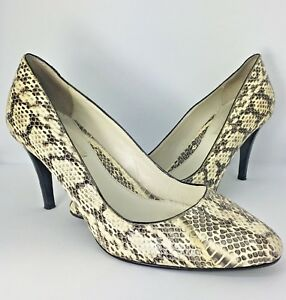 46a68ff04ab Image is loading Dune-Leather-Reptile-Snakeskin-Effect-High-Heel-Stiletto-