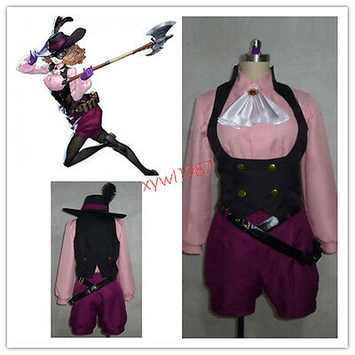 Newest Game Persona 5 Haru Okumura Cosplay Costume with hat Persona5 Set Full