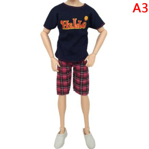 1set party doll clothes accessories doll top dress for boys girls best gift  XA