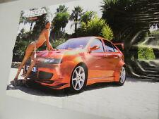 Q64 Poster Seat Leon  retro Gloria Maxi tuning-