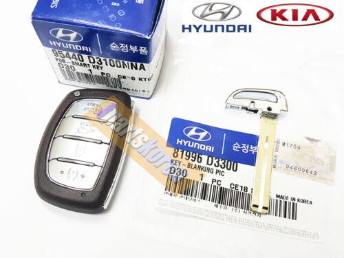 Fob Smart Key Fob Remote 95440F2000 81996B4520 for Hyundai Elantra AD 2017