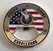 New Police Motorcycle Unit Challenge Coin/ Bottle Opener