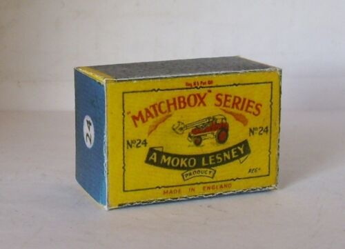 Repro Box Matchbox 1:75 Nr.24 Excevator alt