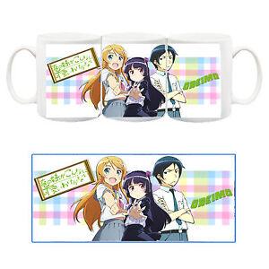 Ore-No-Imouto-Oreimo-Kuroneko-Kirino-Tazza-Ceramica-Mug-Cup-Manga-Anime
