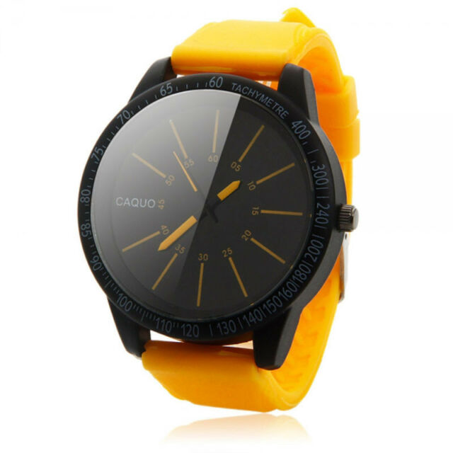Mens Watch Fashion Stainless Steel Luxury Watch Sport Analog Quartz Wrist Watch