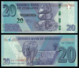 Zimbabwe-20-Dollars-2020-PREFIX-AA-NEW-UNC