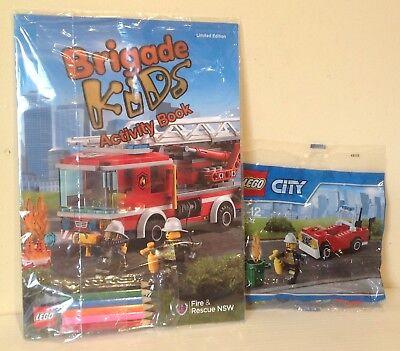LEGO CITY 30347 /& activity book NSW FIRE BRIGADE