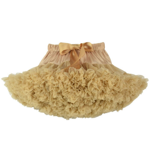Girls Kids Tutu Skirt Dance Tutu Party Petticoat Dress Ballet Fluffy layer 01