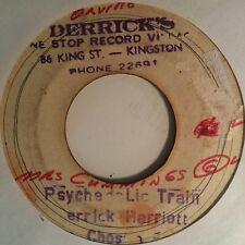 DERRICK HARRIOTT & CHOSEN FEW - psychedelic train - BLANK