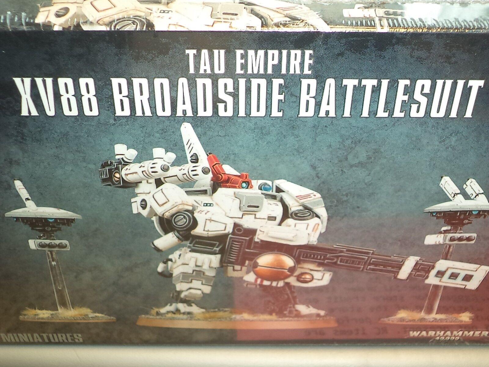 Battlesuit warhammer 40k tau - imperium xv88 brroadside 40.000 game workshop - modell